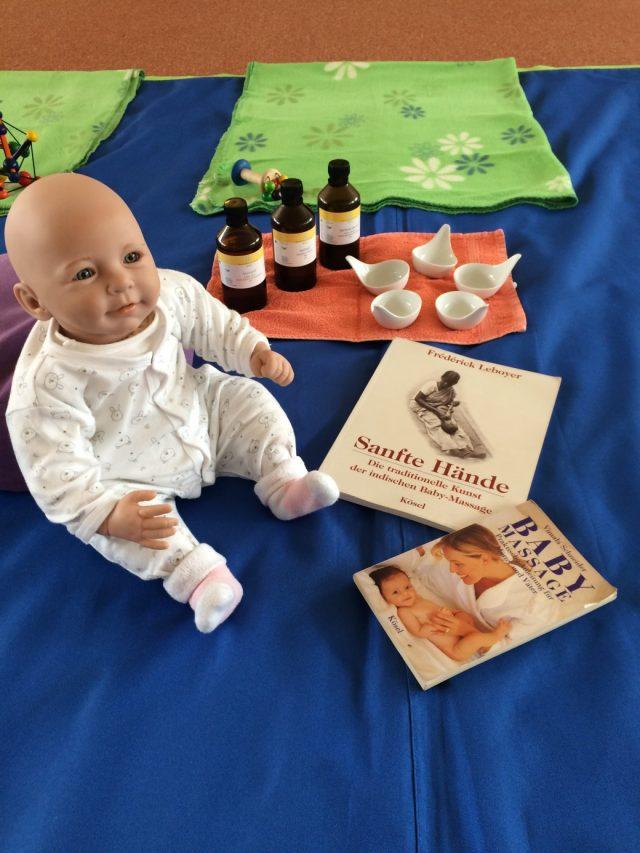 Babymassage Yvonne Linke